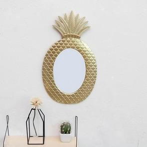 Bedroom Gold Pineapple Wall Decoration Dressing Mirror(Pineapple Mirror )