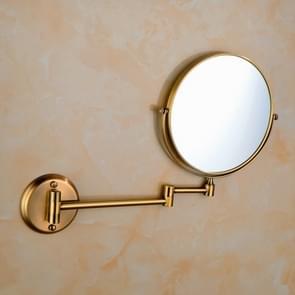 Wall-mounted Hotel Vanity Mirror Folding Double-sided Bathroom Mirror Green Bronze Mirror
