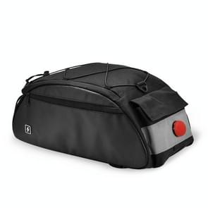 SAHOO Large Capacity Safety Bicycle Shelf Package Tail Bag, Size:  41x18x18CM, Color:Lighted