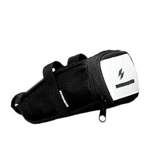 SAHOO Bicycle Tail Bag Riding Reflective Riding Bicycle Bag Saddle Bag