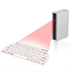 MINI F3 Bluetooth opladen schat Laser virtuele projectie 2 in 1 Keyboard (wit)