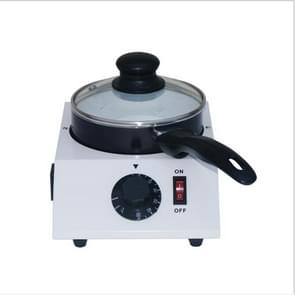Chocolate Melting Machine With Adjustable Thermostat Melting Wax Machine, Size:29x22x19cm(White)