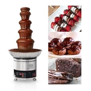 5 Tiers Chocolate Fountain Stainless Steel Hotel Commercial Waterfall Machine