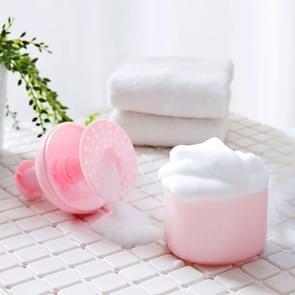 Reizen Portable Facial Cleanser bubbler douchegel Cleanser shampoo bubbler (roze)