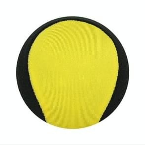 3 PCS Waterproof Lycra Cloth Water Bouncing Ball Water Sports Toys, Diameter: 5.6cm(Yellow)