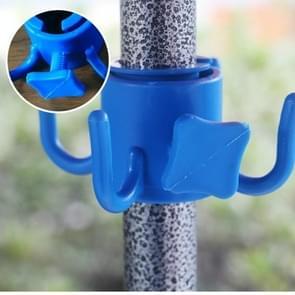 Plastic Four-legged Hook for Beach Embrella Anchor Rod(Blue)