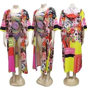 2 stks modieuze Afrikaanse kleding cross-border vrouwen bovenkleding Cape  SIZ: L (als show)