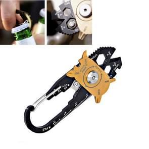 20 in 1 roestvrijstalen moersleutel schroevendraaier creatieve roulette multifunctionele combinatie tool outdoor survival tool