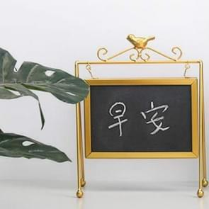 Creative Bird Blackboard Home Decoration Student Gift Store Counter Message Board Large