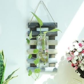 Creative Home Living Room Wall Decoration Retro Color Matching Board Water Culture Bottle Pendant(Mixed Color)