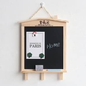 Wooden Magnetic Bracket Type Children Writing Small Blackboard Message Board