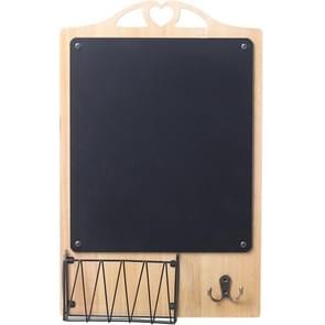Wooden Blackboard Hanging Message Board