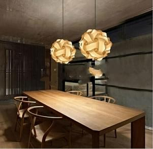 2 PCS Puzzle IQ Lampshade Bar Creative Spherical Chandelier Lantern Lamp Lighting, Random Color Delivery