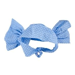Creative Cat Dog Candy Color Funny Tidy Props Headband Hooded Hat(Blue Dot )