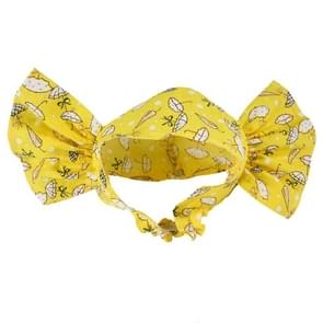 Creative Cat Dog Candy Color Funny Tidy Props Headband Hooded Hat(Yellow Umbrella )