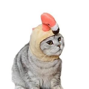 Flamingo Cute Creative Pet Headgear