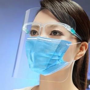 Anti-Speeksel Splash Anti-Spitting Anti-Fog Anti-Oil Transparant Gezichtsmasker Face Shield (Transparant)