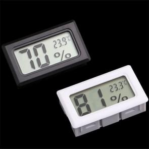 2 PCS LCD Display ABS Material Refrigerator Embedded Electronic Digital Display Temperature and Humidity Meter Random Color Delivery