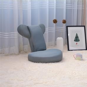 Woonkamer opvouwbare stoel verstelbaar vloer legless tatami Zaisu yoga houding Stoel sofa (grijs)