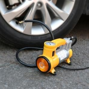 Portable Auto Tire Inflator Car Air Pump Air Compressor with Light
