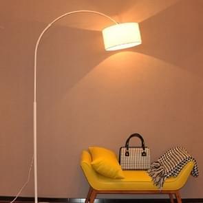 Woonkamer slaapkamer studie eenvoudige afstandsbediening vloer lamp (B wit + 5W LED warm licht)