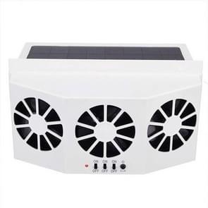 Solar Car radiator energiebesparing milieubescherming detoxificatie Deodorization radiator (wit)