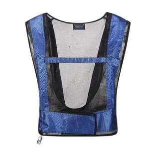 Portable Welder Heatstroke Cooling Air Conditioning Vest, Size:One Size(Blue)