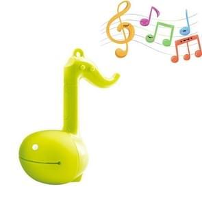 Elektronische Musical Toy Tadpole Creative Notes Erhu (Lichtgroen)