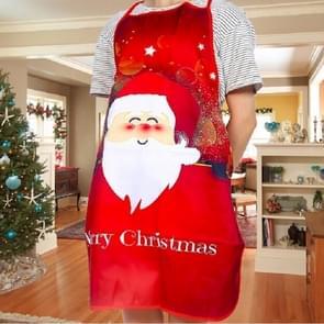 2 PCS Fabric Print Snowman Christmas Apron Christmas Party Atmosphere Decoration, Type:Old Man