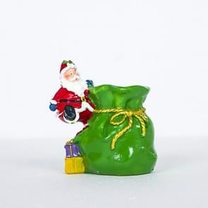 Creatieve zachte keramische kerst pennen geschilderd Santa pennen (groen)