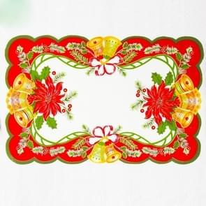 2 PC'S creatief gedrukte Kerstmis tabel mat decoratie (A)