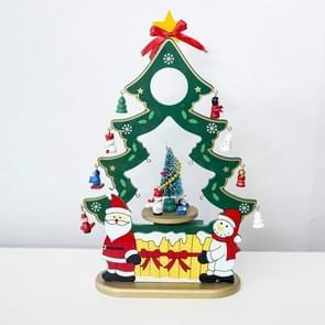 2 PC'S kerst creatief kerstboom muziekdoos Santa Claus gift muziekdoos (groen)
