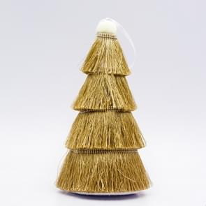 2 PCS Tassel Christmas Tree Ornaments Creative Home Decoration Ornaments( Brown )