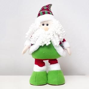 2 PCS Christmas High-heeled Plush Doll Decoration Supplies(Santa Claus )