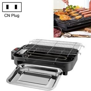 Multifunctionele elektrische grills thuis bakken pan Smokeless 220V indoor BBQ-machine  plug specificatie: CN plug