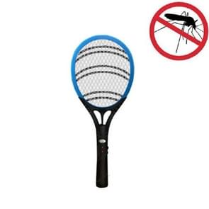 Household High-power Rechargeable Electric Mosquito Swatter  Style:Lithium Battery USB Plug(Blue Black)