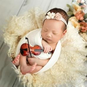 Pasgeboren fotografie instrument baby foto hulprekwisieten  stijl: viool