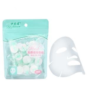 20 stuks gecomprimeerd papier masker wegwerp katoen Skin Care masker gezicht papier masker voor vrouwen