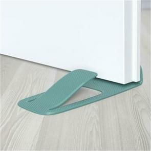 Multi-function Spring Innovative Door Stopper Block Simple Style Door Wedge Holder(Blue)