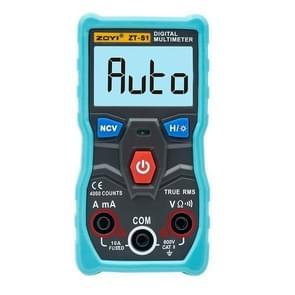 ZOYI Portable Electric Measurement Automatic Intelligent Gear Recognition Mini Multimeter( ZT-S1Blue)