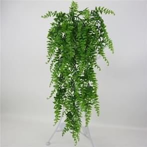 5 PCS Simulation Fern Grass Plant Wall Hanging Plants Home Wedding Shop Decoration