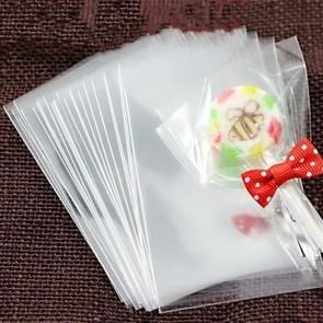 2 Set 100 PCS/Set Gift Lollipop Cookie Bag Packaging Supplies, Specification:6*9 Double Sided 7 Wire