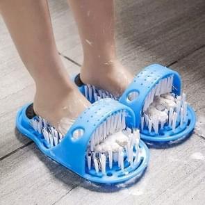 2 PCS Plastic Massage Slippers Bath Shoes Brush Pumice Stone Remove Dead Skin Foot Care Tool