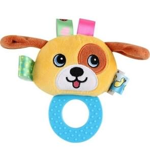 Infant Hand Gripping Gum Rattle Plush Toy, Color: Puppy