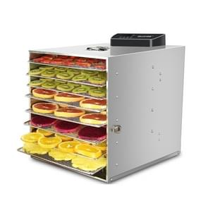 12-layers Food Dehydrator Dual-use Food Dryer Stainless Dteel Fruit Vegetable Drying Machine, CN Plug