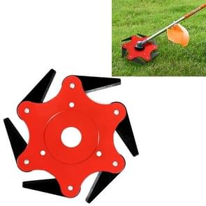 Grass Machine Grass Blade Lawn Mower Accessories, Style:6 Leaves
