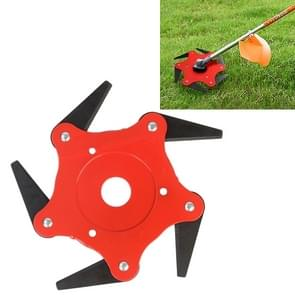 Grass Machine Grass Blade Lawn Mower Accessories, Style:5 Leaves