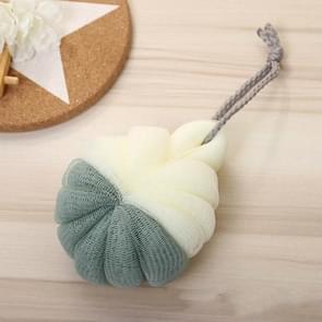 Portable Hanging Bath Flower Ball Soft Foaming Shower Massage Ball Body Exfoliating Bath Brush(Green)