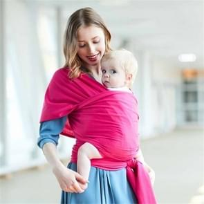 Multifunctionele baby Sling (Rose rood)
