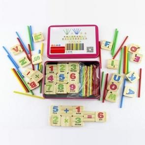 Montessori vroege leren math tools digitale stick kinderen kleuterschool onderwijs AIDS (upgrade)